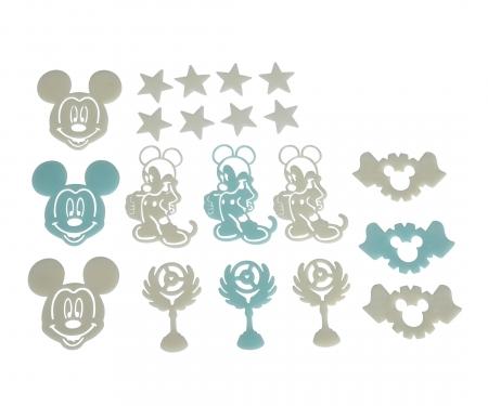 simba Mickey GID Set
