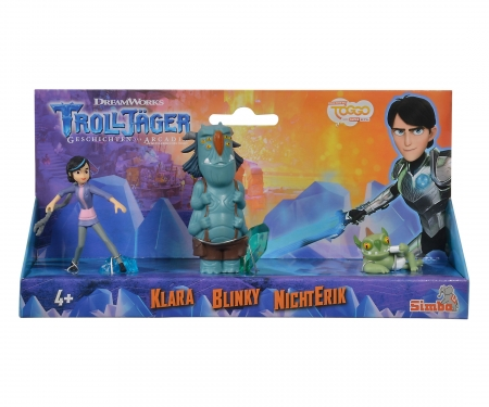 simba Trollhunter, 3 pcs Figurine Set, Claire