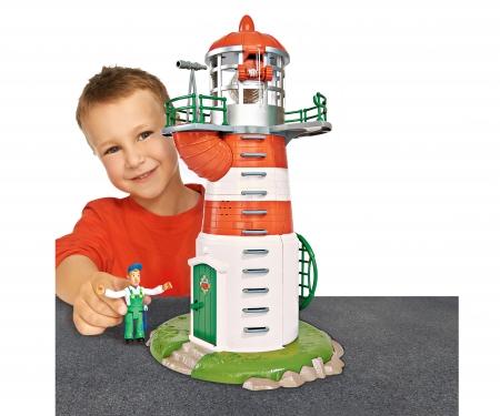 simba Sam Lighthouse with Figurine