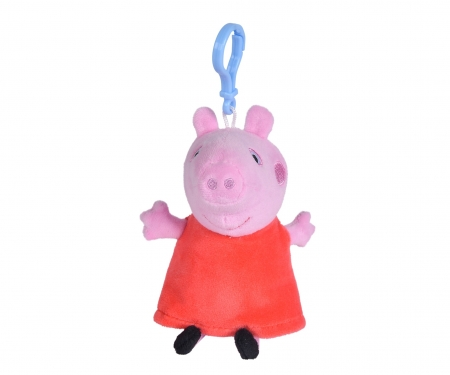 simba Peppa Pig Plush Beltchlips, 4-ass.
