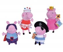simba Peppa Pig Plüsch Kostümfreunde, 4-sort.