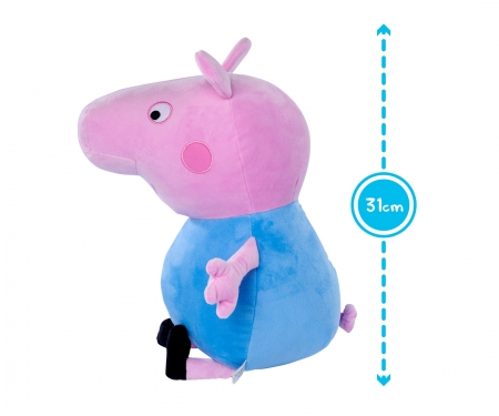 simba Peppa Pig Plush George, 31cm