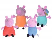 simba Peppa Pig Plüsch klein, 4-sort.