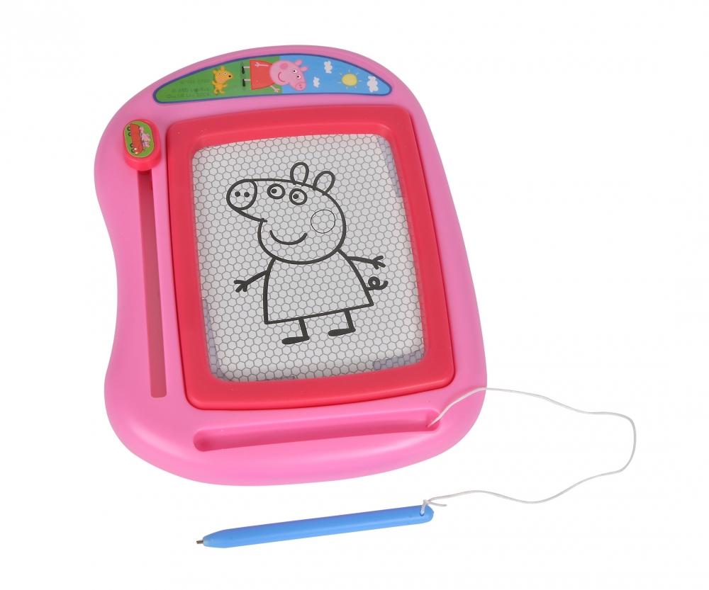 Peppa Pig Magnetic Drawing Board Peppa Pig Brands Www Simbatoys De