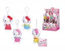 simba Hello Kitty Plüsch Schlüsselanhänger, 4-sort.