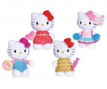 simba Hello Kitty Plüsch, 20cm, 4-sort.