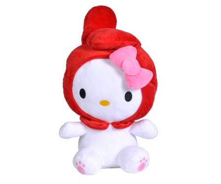 simba Hello Kitty Kapuzen Tierplüsch, 30cm, 3-sort.