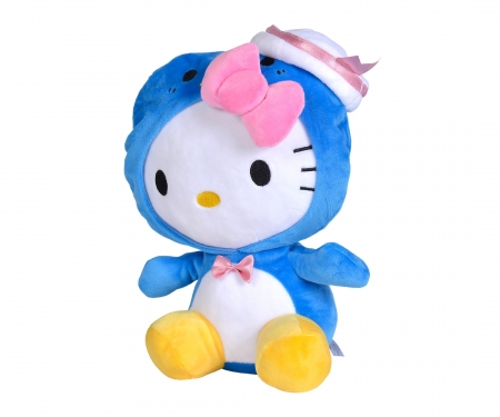 simba Hello Kitty Hood Animal Plush, 30cm, 3-ass.