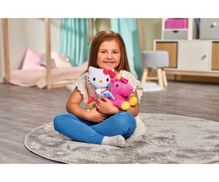 simba Hello Kitty Unicorn Contur Plush, 25cm