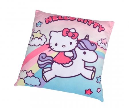 simba Hello Kitty Einhorn Plüschkissen, 35cm