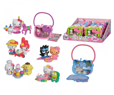 simba Hello Kitty Collectibles in Carrycase, 6-ass.