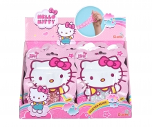 simba Hello Kitty Glitzer Schleim, 4-sort.