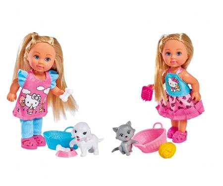 simba Hello Kitty Evi LOVE Animal, 2-sort.