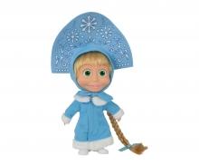 simba Masha Bambola cm.23 con abito azzurro della serie TV