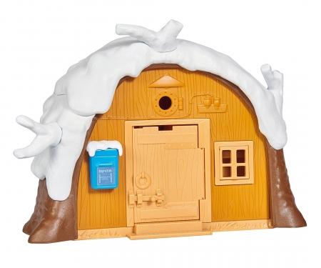 simba Masha Playset Casa Inverno, inclusi Masha e Orso ed accessori