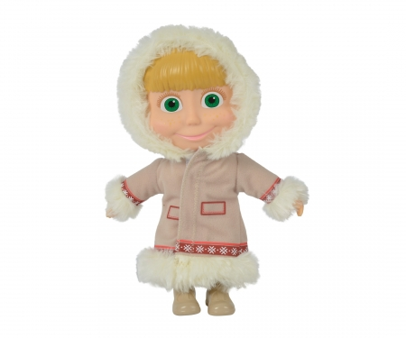 simba Masha Soft Bodied Doll, 23cm, 3-ass.