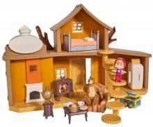 simba Masha Playset, la Grande Casa di Orso, inclusi Masha e Orso ed accessori