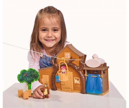 "simba Masha Spielset ""Großes Bärenhaus"""