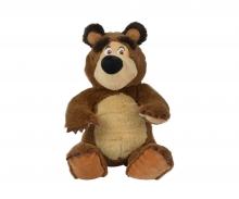 simba Masha Bean Bag Bear, 20cm, sitting