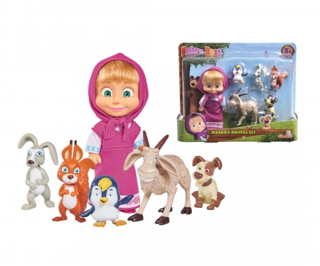simba Masha and her Animal Friends