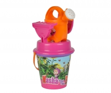 simba Masha Bucket Set