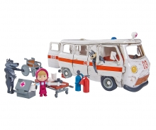 "simba Masha Spielset ""Krankenwagen"""