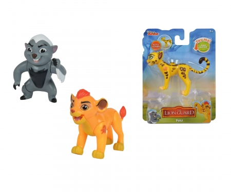 simba Lion Guard moveable Figurine, 3-ass.