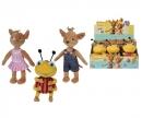 simba JoNaLu Plush Figurines, 3-ass.