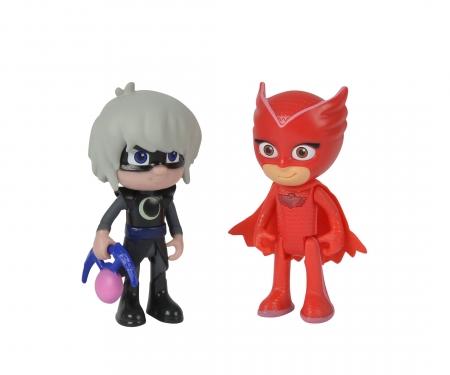 simba PJ Masks Figure Set Owlette+Luna