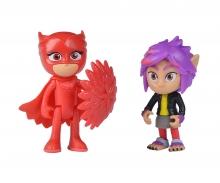 simba PJ Masks Figurine Set Owlette+Rip