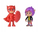 simba PJ Masks Figuren Set Eulette+Rip