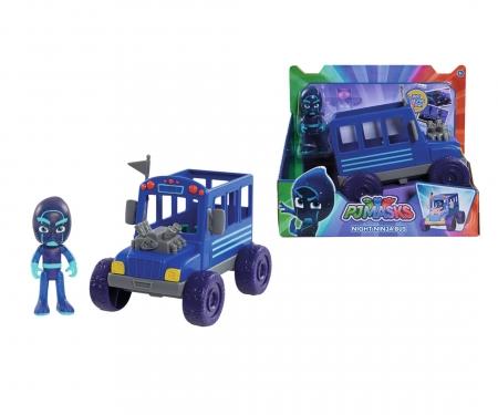 simba PJ Masks Ninja mit Bus