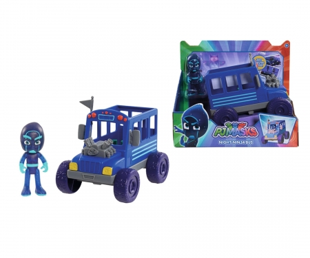 simba PJ Masks Ninja with Bus