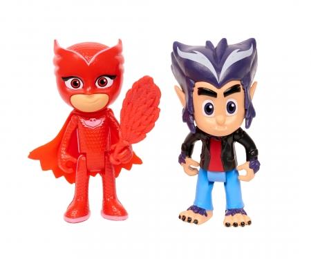 simba PJ Masks Figurine Set Owlette+Howler