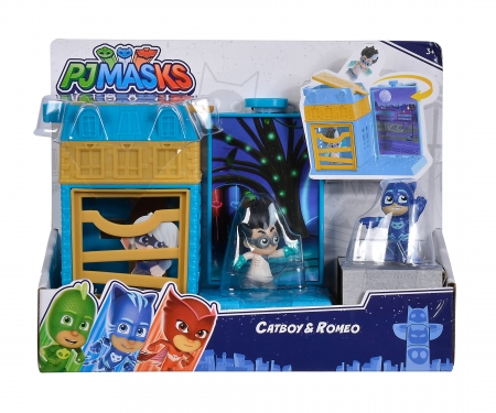simba PJ Masks Mini Action Playsets Catboy