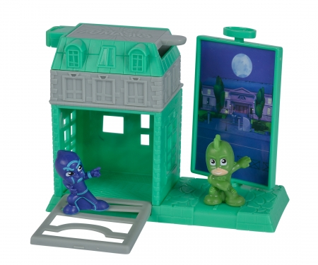 simba PJ Masks Mini Action Spielset Gecko