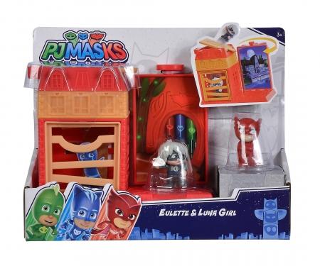 simba PJ Masks Mini Action Spielset Eulette