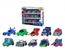 simba PJ Masks Mini Vehicles Deluxe Set