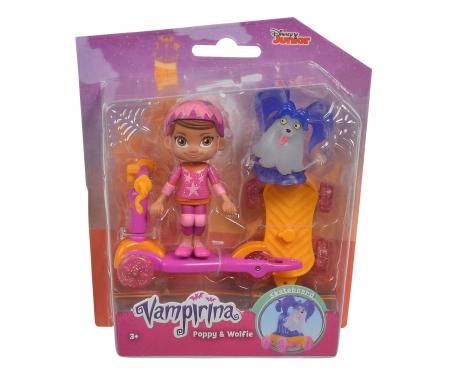 simba Vampirina Scooter Poppy and Wolfie