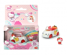 simba VEHICULO MANZANA CON FIGURA HELLO KITTY