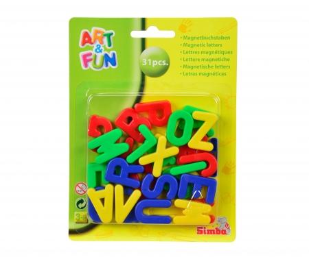 simba Letras magnéticas 31 piezas