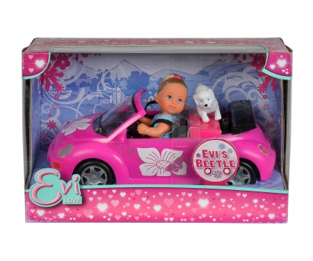 simba Evi con coche Beetle