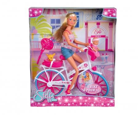 simba Steffi Love en bicicleta