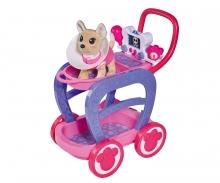 simba Chi Chi Love carrito veterinario con perrito