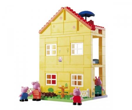 simba Casa de Peppa Pig bloques de construcción 107 piezas