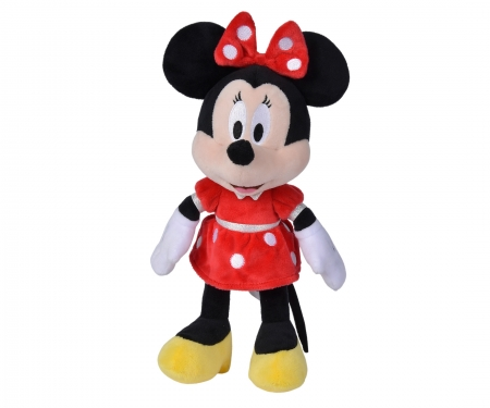 simba Peluche Minnie rojo 25 cm