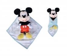 simba Peluche Mickey con mantita 25 cm