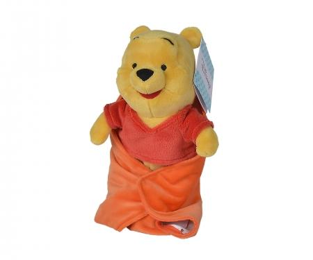 simba Peluche Winnie the Pooh con mantita 25 cm