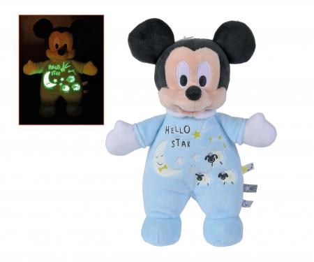 simba Mickey brilla en la oscuridad, 25 cm