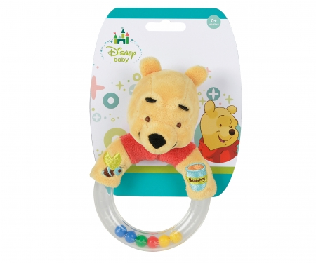 simba Disney WTP Ring Rattle with Plush